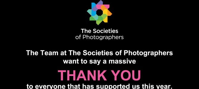 The Team at The Societies of Photographers want to say a massive THANK YOU