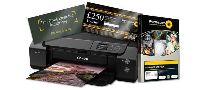 PermaJet and Canon have teamed up for a print competition with some highly desirable prizes
