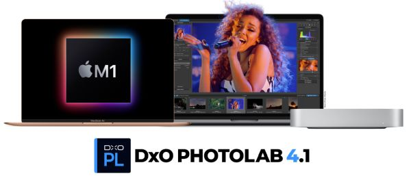 The Revolutionary Apple M1 Chip has Boosted the Efficiency of DxO PhotoLab 4's DeepPRIME Technology by Leaps and Bounds