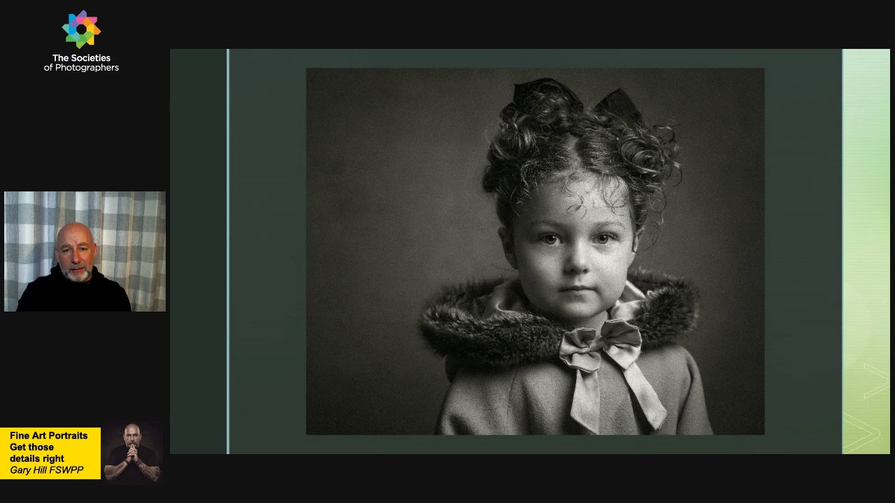 Fine Art Portraits - Get those details right with Gary Hill FSWPP