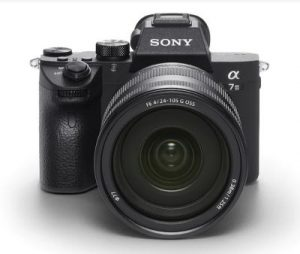 α7 III with 35mm full-frame image sensor