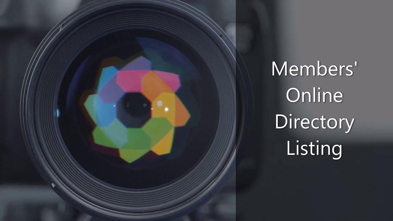 Members' Online Directory Listing
