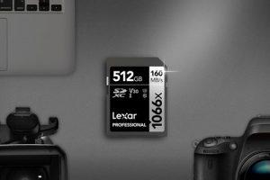 Lexar® Professional 1066x SDXC