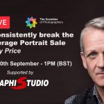 Webinar: How to consistently break £1000 plus average Portrait Sale with Jeremy Price