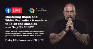 Webinar: Mastering Black & White Portraits with Gary Hill FSWPP