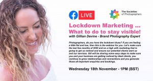 Webinar: Lockdown marketing What to do to stay visible! with Gillian Devine