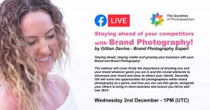 Webinar: Staying ahead of your competitors with Brand Photography! by Gillian Devine