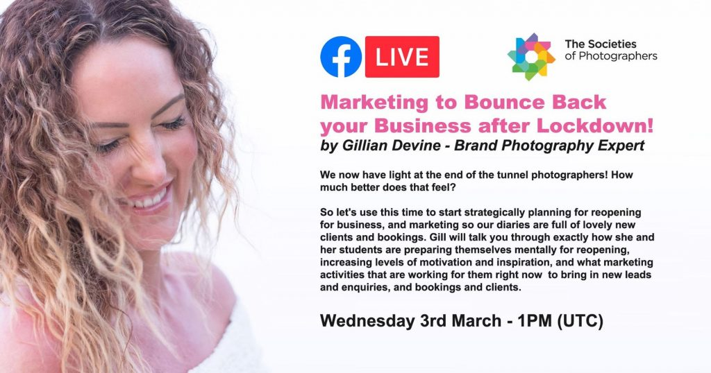 Webinar: Marketing to Bounce Back your Business after Lockdown! by Gillian Devine