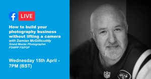 Webinar: How to build your photography business with Damian McGillicuddy