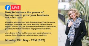 How to harness the power of Instagram to grow your business with Amber Leach