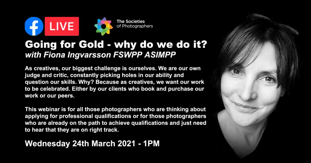 Webinar: Going for Gold - why do we do it? With Fiona Ingvarsson FSWPP ASIMPP