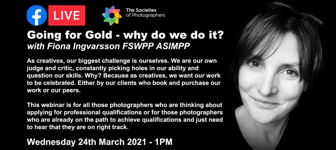 Webinar: Going for Gold – why do we do it? With Fiona Ingvarsson FSWPP ASIMPP