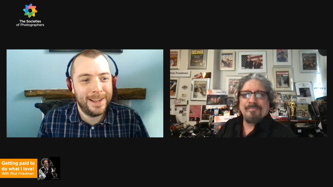 Webinar: Getting paid to do what I love! with Rick Friedman