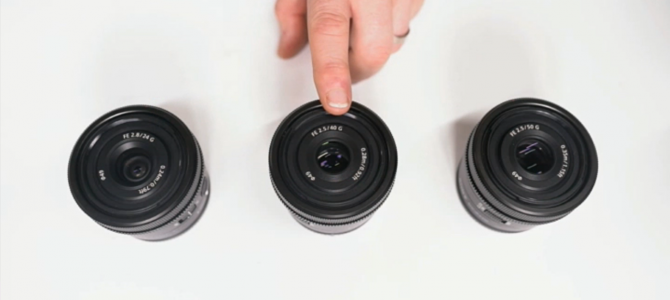 Introduction to the three new high-performance full-frame Sony G Lenses with Mark Baber