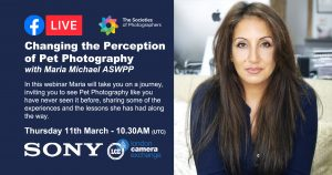 Webinar: Changing the Perception of Pet Photography with Maria Michael ASWPP