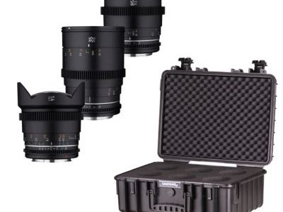 Samyang VDSLR MK2 Cine Lenses Available Now in RF Mount and Lens Kits