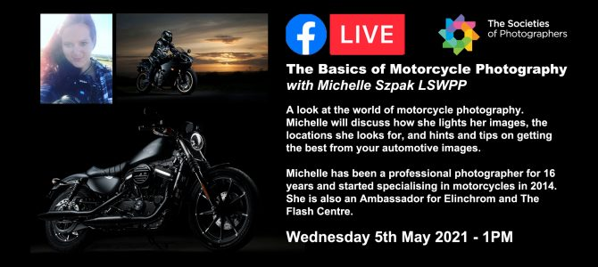 Webinar: The Basics of Motorcycle Photography with Michelle Szpak LSWPP