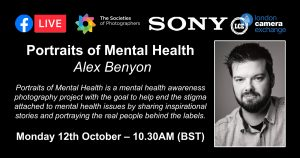 Webinar: Portraits of Mental Health with Alex Benyon