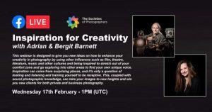 Inspiration for Creativity with Adrian and Bergit Barnett