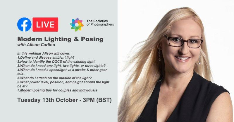 Webinar: Modern Lighting & Posing with Alison Carlino