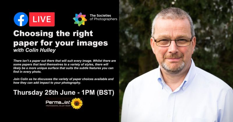Webinar: Choosing the right paper for your images