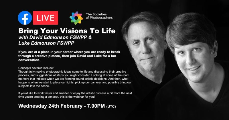 Bring Your Visions To Life with David Edmonson FSWPP & Luke Edmonson FSWPP