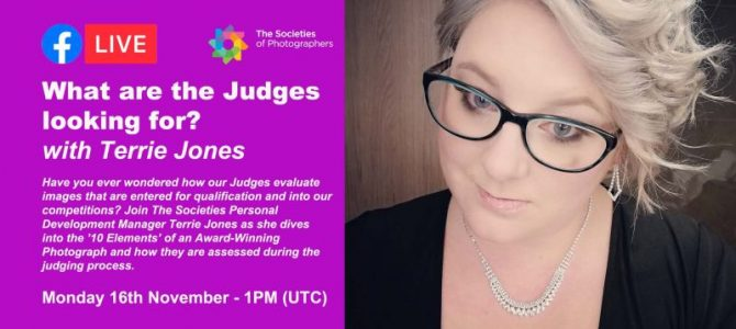 Webinar: What are the Judges looking for? with Terrie Jones
