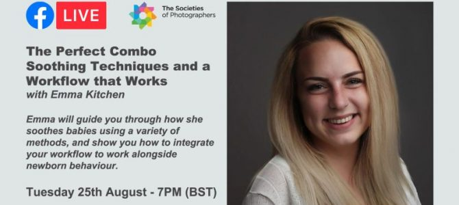 Webinar: The Perfect Combo – Soothing Techniques and a Workflow that Works with Emma Kitchen