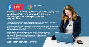 Webinar: Business & Marketing Planning for Photographers with Nina Mace