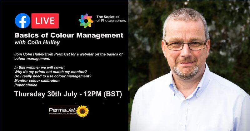 Webinar: Basics of Colour Management