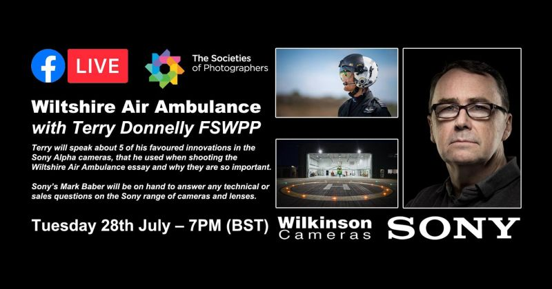 Wiltshire Air Ambulance Essay with Terry Donnelly