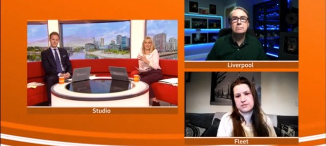 The Societies of Photographers' Awards Featured on BBC One Breakfast