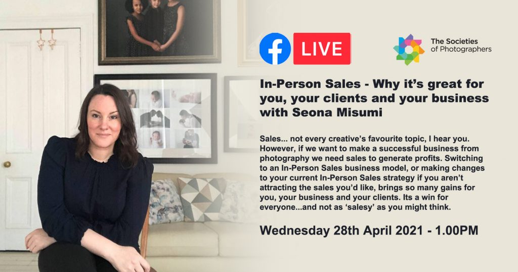 In-Person Sales - Why it's great for you, your clients and your business with Seona Misumi