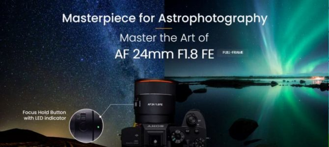 Samyang Announce the Launch of new AF 24mm F1.8 FE with Optimised Features for Astrophotography