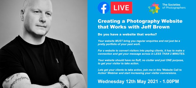 Webinar: Creating a Photography Website that Works with Jeff Brown