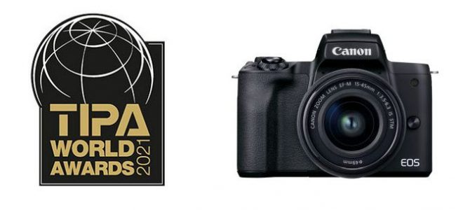 Canon pick up 3 accolades at the TIPA World Awards 2021