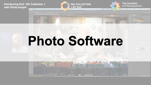 Photo Software Webinars