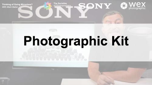 Webinars on Photographic Kit