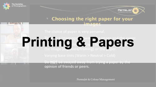 Webinars on Printing & Papers