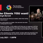 Webinar: Choosing the Clients YOU want! with Adrian and Bergit Barnett