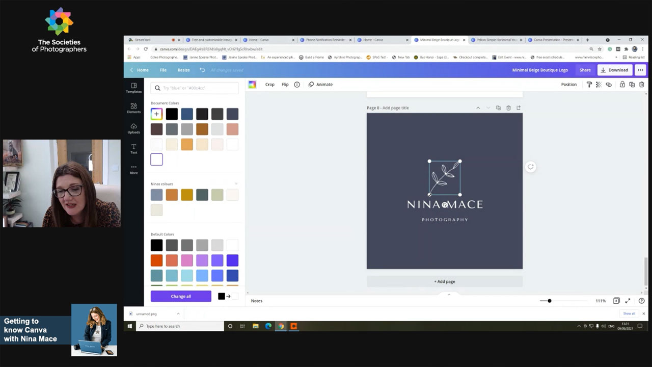 Getting to know Canva with Nina Mace