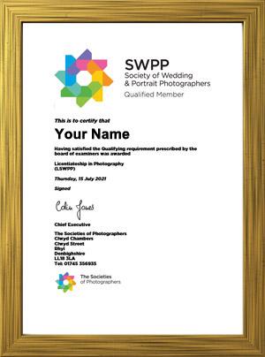 SWPP Qualification Certificate