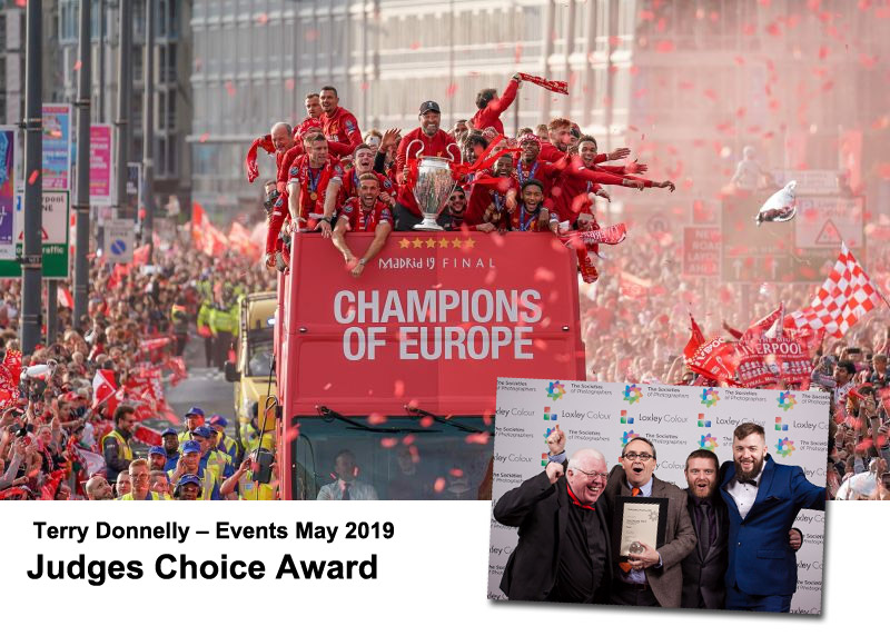 Terry Donnelly – Events May 2019 – Judges Choice Award