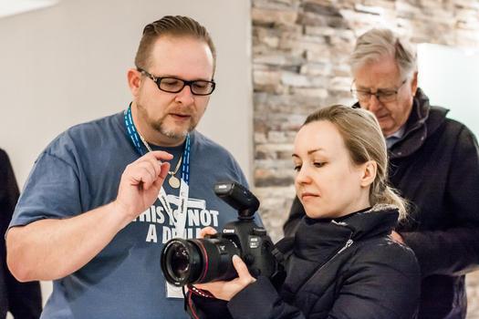 Helping photographers
