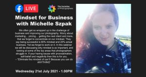 Webinar: Mindset for Business with Michelle Szpak