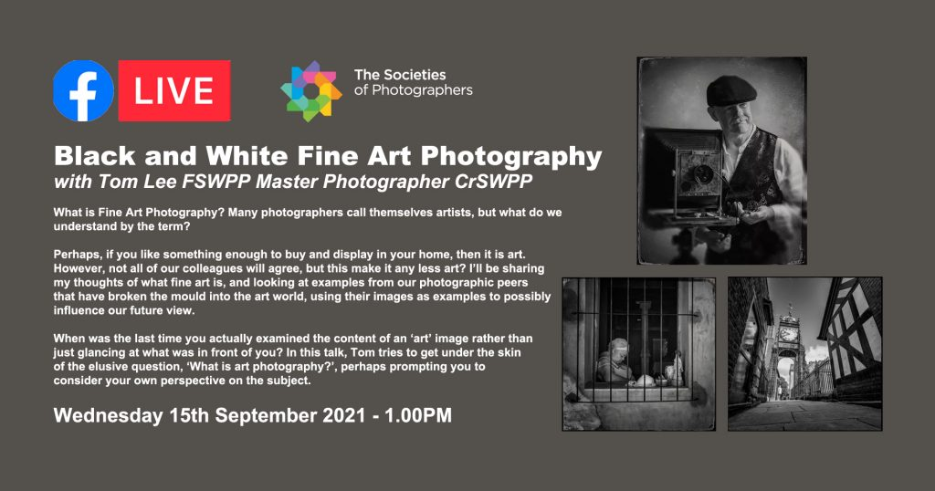 Black and White Fine Art Photography with Tom Lee