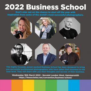 The Societies of Photographers 2022 Business School